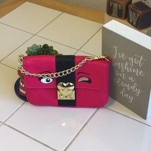 'Betsy Johnson' Bright Pink Mini Purse